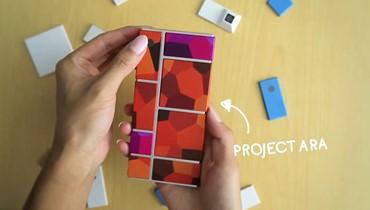 هواتف ذكية بقطع قابلة للتغيير