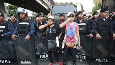 قيادة الانقلاب العسكري في تايلاند تحصل على موافقة الملك