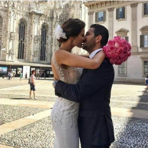 بالصور وسام بريدي وريم السعيدي زفاف في النهار